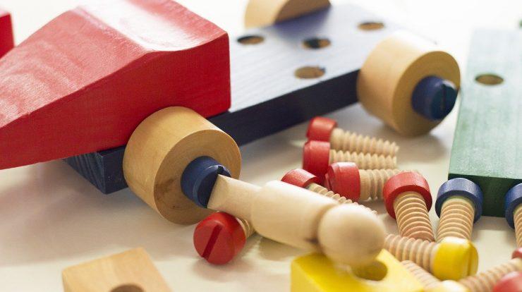 Spielbogen Holz